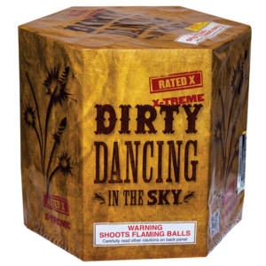 7 shots cake fireworks - Dirty Dancing