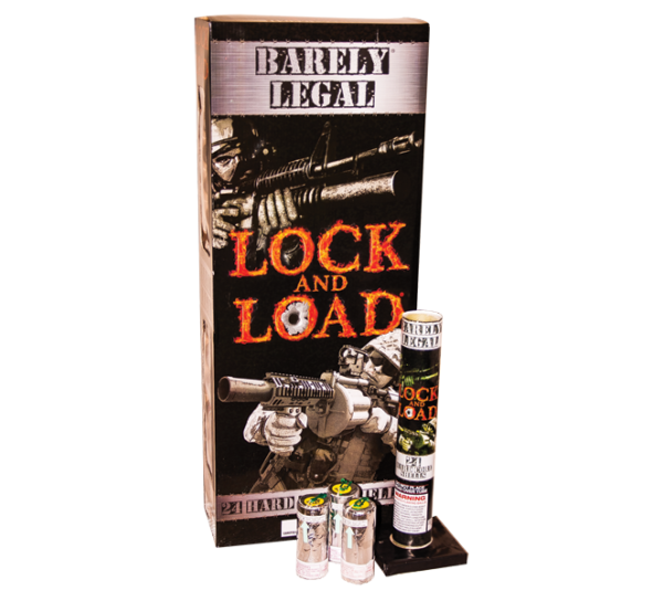 Lock and Load Artillery & Canister Shells Fireworks
