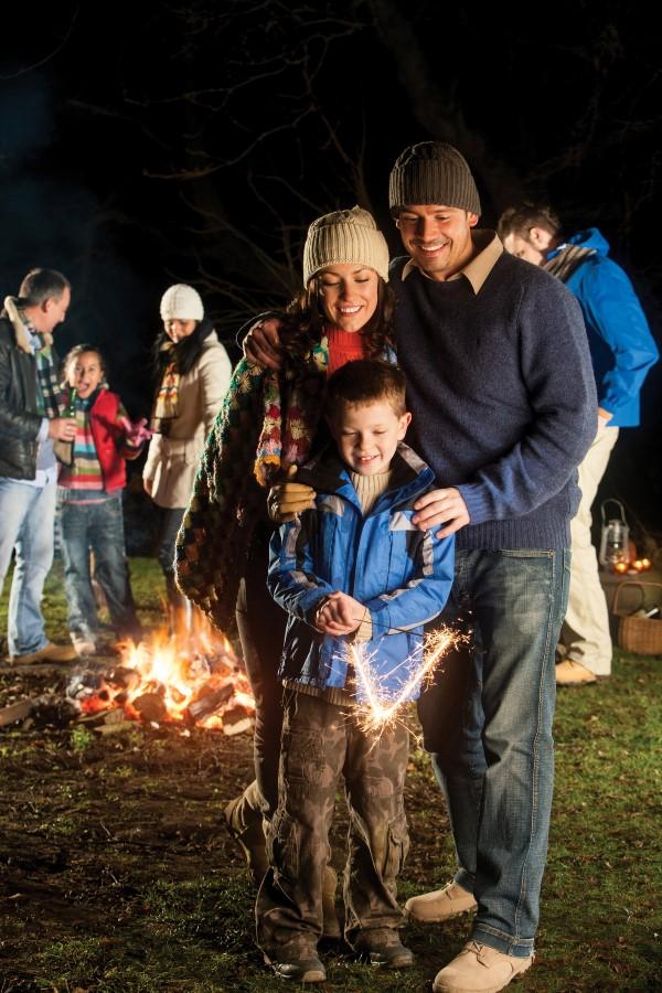 Family Bonfire Night Dynamite Fireworks