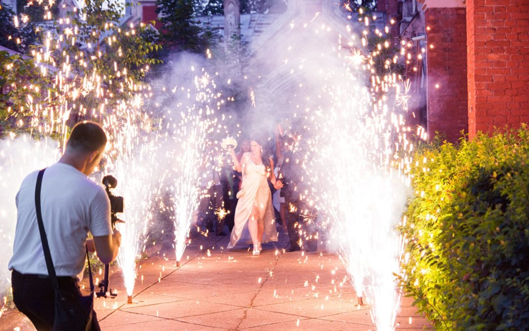 Light Up Your Wedding Proposal or Promposal With Fireworks